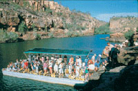 Katherine Gorge cruise (optional extra)