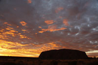 Uluru sunset courtesy of Matt hutchinson collection  ©